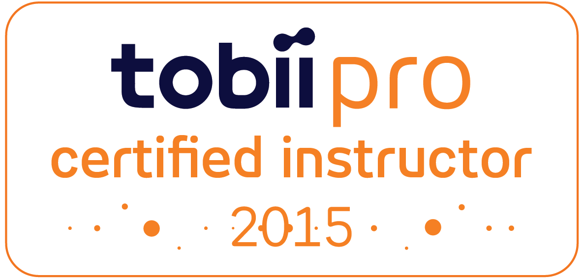 Siegel Tobii Certified Instructror